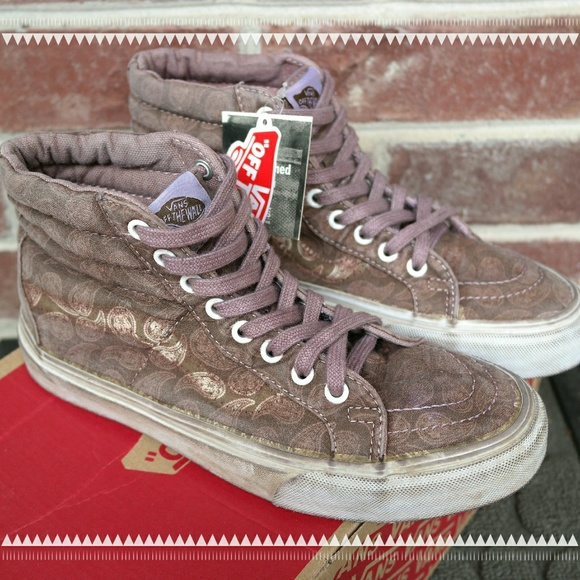 35ca68bbc4 Vans SK8-HI Reissue Overwash Paisley Teak Shoes
